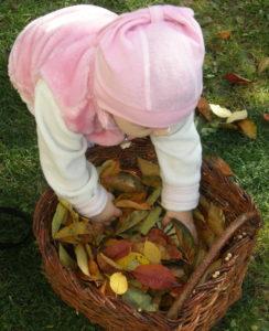 Jesenné aktivity pre deti - košík plný prekvapení