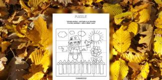 Strašiak - jesenné puzzle