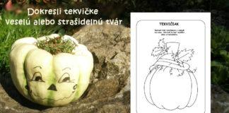 Tekvica - jesenné aktivity pre deti