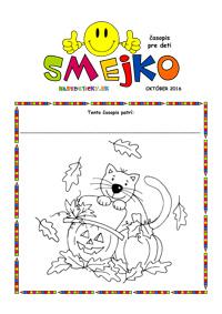 Časopis SMEJKO - október