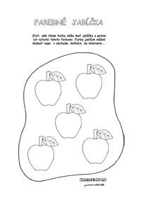 Jesenné pracovné listy pre deti