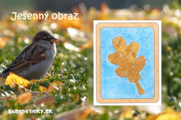 List - Výtvarné námety na jeseň