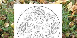 Jesenná mandala