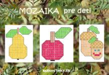 Jesenná mozaika - jesenné výtvarné námety pre deti