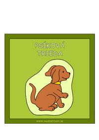 Pes - psíkova trieda - obrázok pre deti