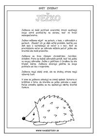 Ježko - encyklopédia
