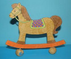 Hojdací koník - aktivity pre deti