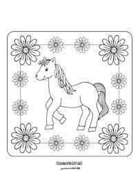 Koník - obraz pre deti