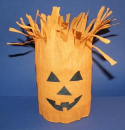 Lampášik na Halloween