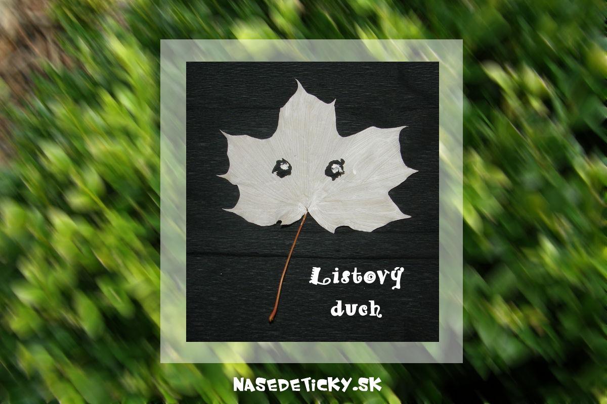 Listový duch - Halloween