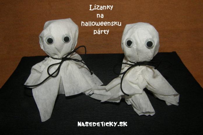 Lízatká na halloweensku párty