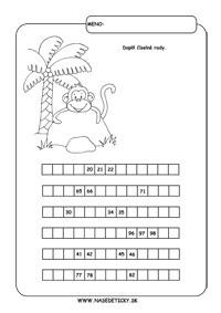 Pracovné listy pre druhákov - matematika