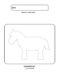 Ako nakresliť koníka