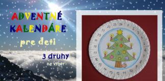 Adventný kalendár pre deti
