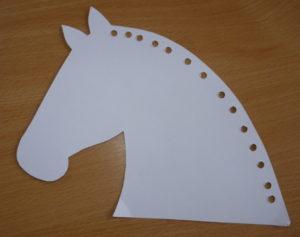 Biely koník - aktivita na Martina