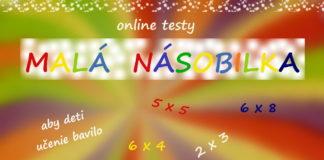 Malá násobilka - online testy