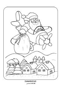 Vianočná omaľovánka