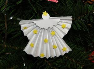 Anjelik - ozdoba na vianočný stromček