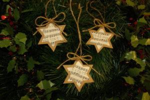 Ozdoby na stromček - hand made