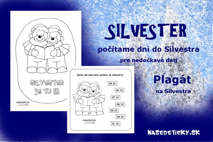 Silvester - aktivity pre deti
