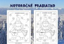 Novoročné prasiatko - novoročné aktivity pre deti