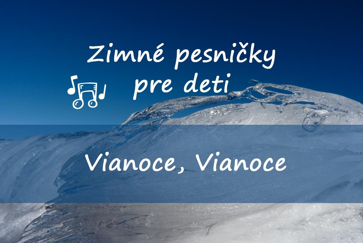 5fb5a55799 Zaspievajte si s deťmi obľúbenú zimnú pesničku Vianoce
