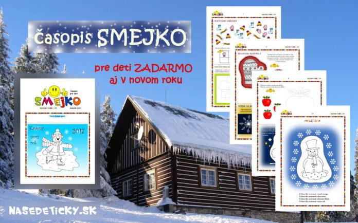 Časopis SMEJKO - január 2017