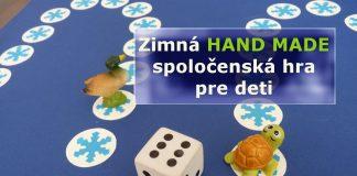 Zimná spoločenská hra pre deti