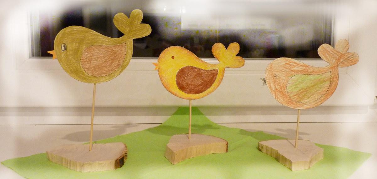 Vtáčiky - aktivity pre deti