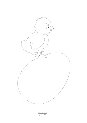 Kuriatko na vajíčku