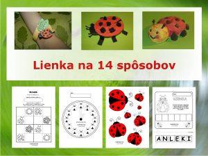 Lienka - aktivity pre deti