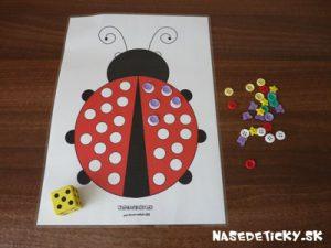 Lienka - hra pre deti