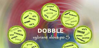 Dobble - vybrané slová po S