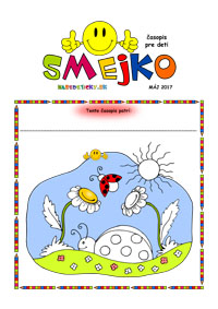 Časopis SMEJKO pre deti
