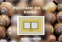 Bingo - počítame do 10