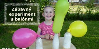 Zábavný experiment s balónmi