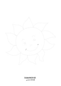 Maľujeme s deťmi - slnko
