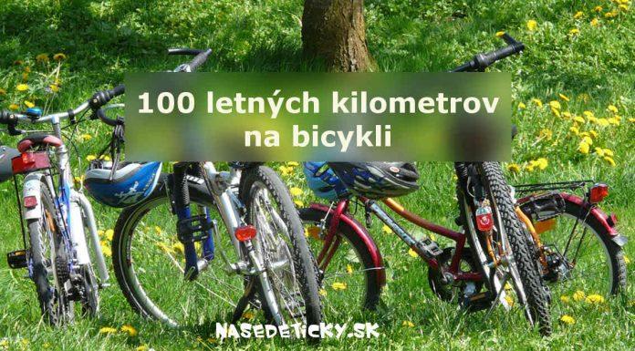 100 letných kilometrov na bicykli