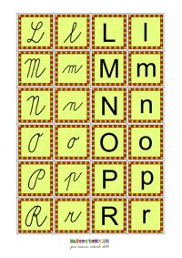 Kartičky - písmenká