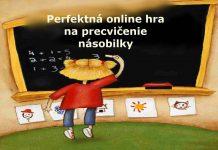 Násobilka - online hra