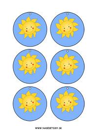 Slniečko - medaily