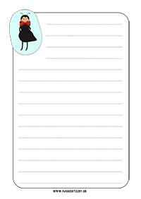 Ozdobný papier s mravčekom