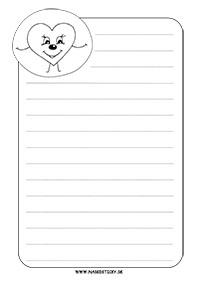 Ozdobný papier so srdiečkom