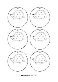 Medaila - ježko