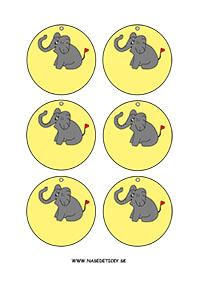Medaila - sloník