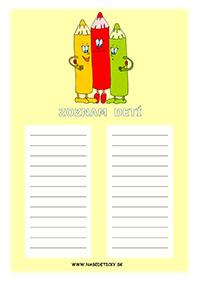 Farbičky - zoznam detí