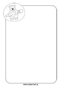 Ozdobný papier s mackom