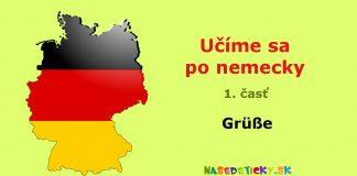 Nemčina - pozdravy