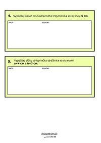 Pytagorova veta - príklady