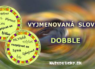 Vyjmenovaná slova - DOBBLE